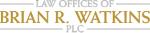 Logo for Michigan Defense Attorney, Law Offices of Brian R. Watkins in Novi, Michigan, Oakland County